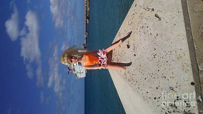 Photograph - Cruise Ship Barbie In St.  Croix by Tamara Michael