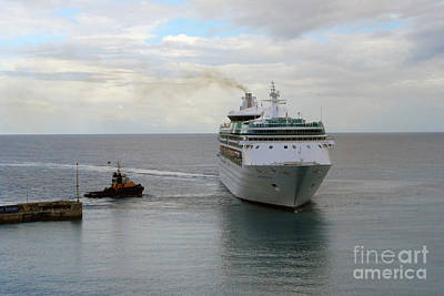 Photograph - Cruise Ship by Gary Wonning