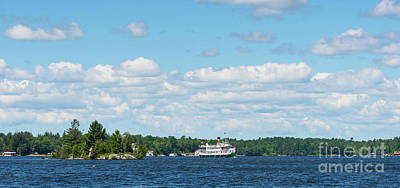 Photograph - Cruise Ship On Lake Muskoka by Les Palenik