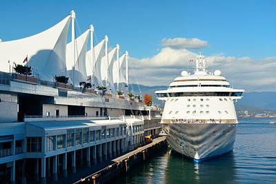Photograph - Cruise Ship by Songquan Deng