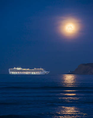 Photograph - Cruise'n The Moon by Dan McGeorge