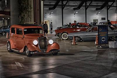 Photograph - Cruisin By The Hangar by Bill Dutting