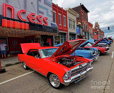 Photograph - Cruisin' Harriman Car Show by Paul Mashburn