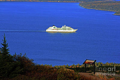 Photograph - Cruising By Cadillac Mountain by Patti Whitten