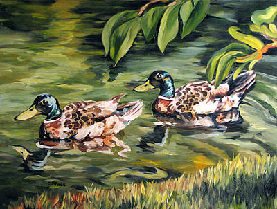 Painting - Cruising by Cheryl Pass