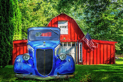 Photograph - Cruising In The Country by Debra and Dave Vanderlaan