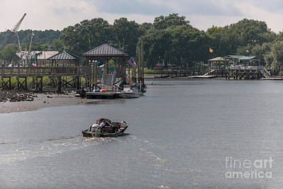 Photograph - Cruising Jeremy Creek by Dale Powell