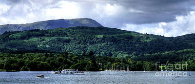 Photograph - Cruising Lake Windermere by Lance Sheridan-Peel