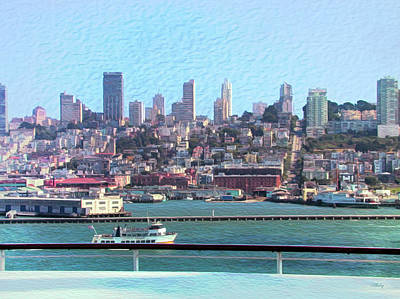 Photograph - Cruising San Francisco Bay by John M Bailey