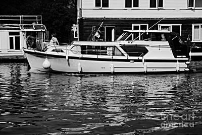 Photograph - Cruising The Thames by Lance Sheridan-Peel