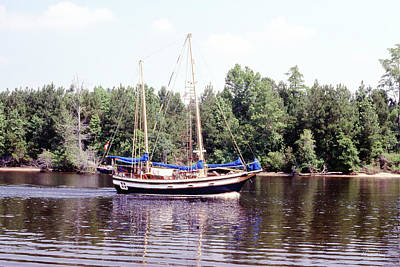Photograph - Cruising The Waterway by Gordon Mooneyhan