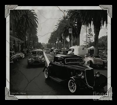 Photograph - Cruising Vintage Image by Jim Tillman-Bobbee Rickard