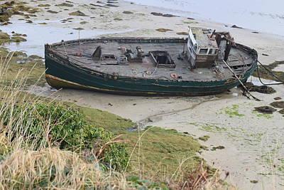 Photograph - Cruitt Island Shipwreck by Dawn Richerson