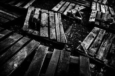 Photograph - Crumbled by Matti Ollikainen