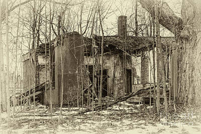 Photograph - Crumbling by Joann Long