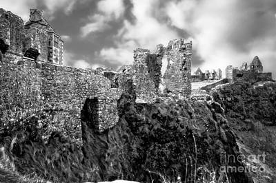 Photograph - Crumbling Medieval Castle by Imagery by Charly