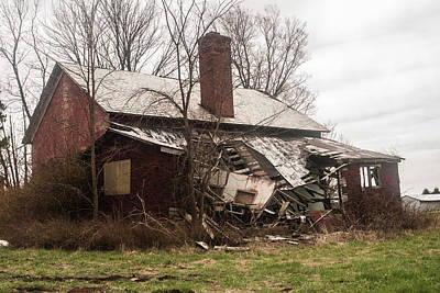 Photograph - Crumbling by Melissa Newcomb