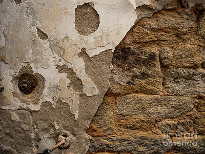 Photograph - Crumbling Wall by Valerie Morrison