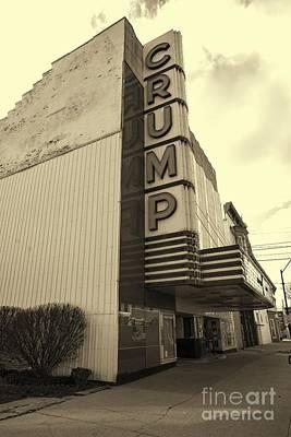 Photograph - Crump Theater by David Bearden