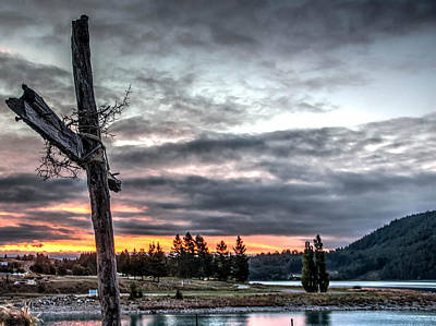 Crusafix Photograph - Crusafix Sunset by DLP Squared Photography
