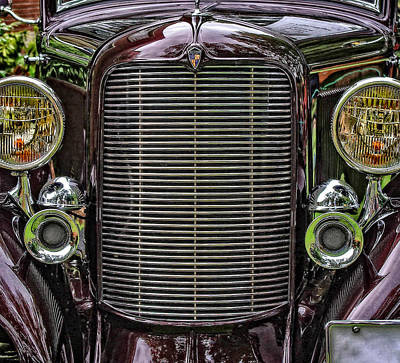 Crusin' With A 32 Desoto Art Print
