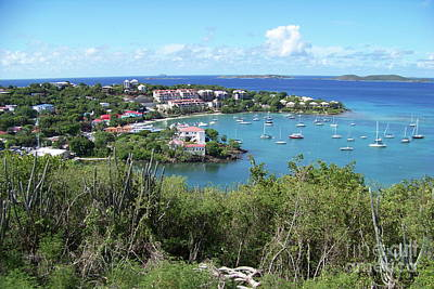 Photograph - Cruz Bay by Carol  Bradley