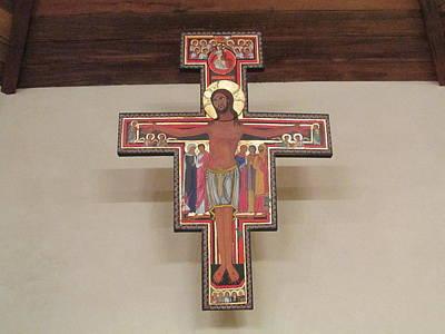 Painting - Cruz De San Damian by Sarah Hornsby