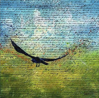 Painting - Cry Freedom by Cindy Johnston