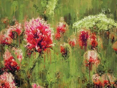 Digital Art - Crying Flowers by Yury Malkov