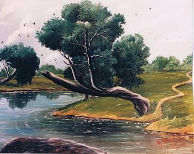 Crying Tree Sold Art Print