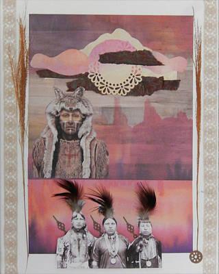 Crying Wolf-singing Maidens Original by Robin Siebach