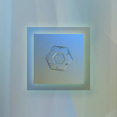 Photograph - Cryogenia - Pastel Frame by Alexey Kljatov