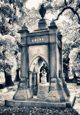 Woodlawn Photograph - Crypt At Woodlawn II by Jessica Jenney