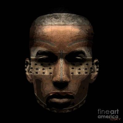 Incision Digital Art - Cryptofacia 93 by Walter Oliver Neal