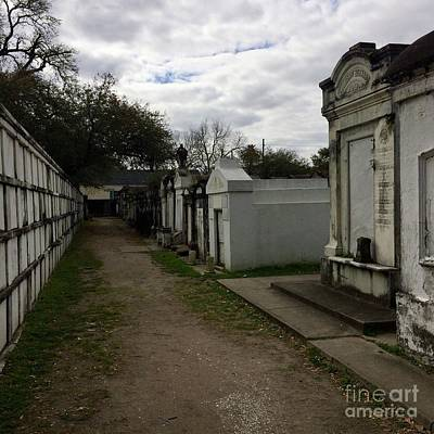 Art Print featuring the photograph Crypts by Kim Nelson