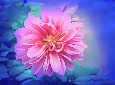 Digital Art - Crysanthemum Delight by Bonnie Willis