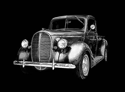 Art Print featuring the photograph Crystal 38 Ford Pickup by Gary Smith