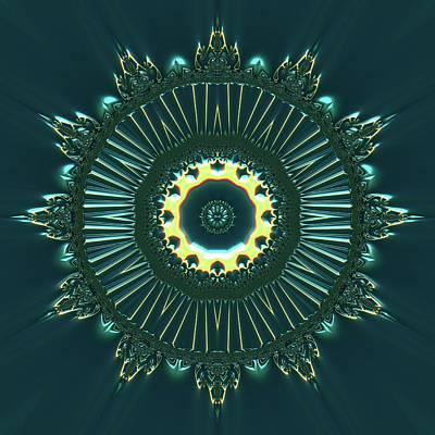 Digital Art - Crystal Ahau 657545 by Robert Thalmeier