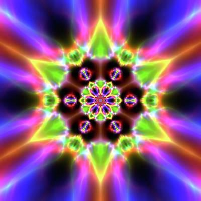 Digital Art - Crystal Ahau 657545456 by Robert Thalmeier