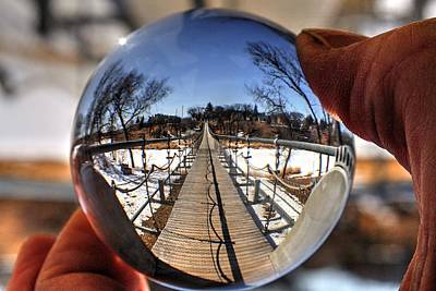Photograph - Crystal Ball by David Matthews