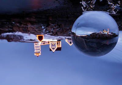 Art Print featuring the photograph Crystal Ball Nubble by Chris Babcock