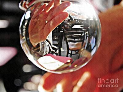 Photograph - Crystal Ball Project 70 by Sarah Loft