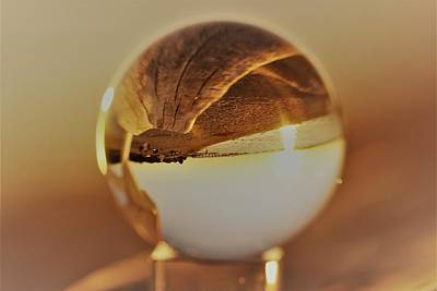 Photograph - Crystal Beach Ball by Karen Silvestri