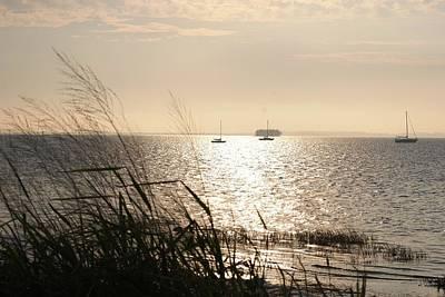 Peter Mcintosh Photograph - Crystal Beach by Peter  McIntosh