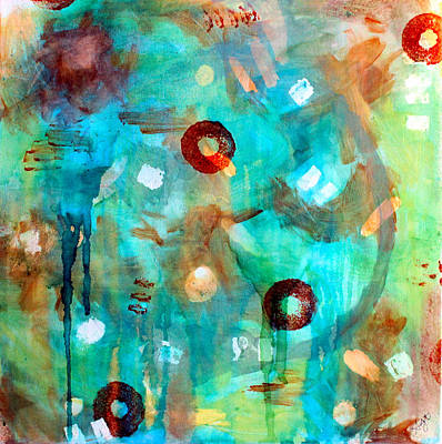Painting - Crystal Blue Persuasion by Shelley Graham Turner