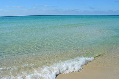 Panama City Beach Photograph - Crystal Blue Surf 1 by Tamra Lockard