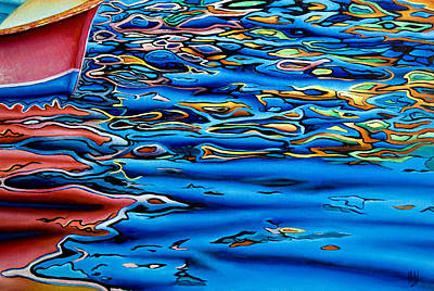 Painting - Crystal Blue Water by Michel Angelo Rossi
