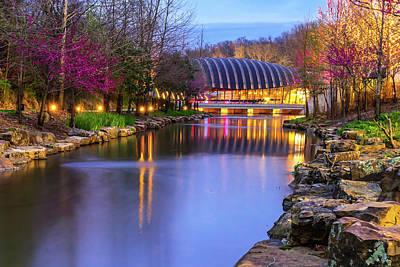 Photograph - Crystal Bridges Art Museum In Spring - Arkansas by Gregory Ballos
