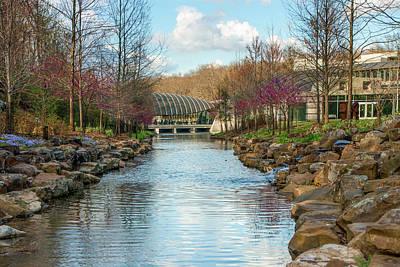 Photograph - Crystal Bridges Art Museum - Northwest Arkansas by Gregory Ballos