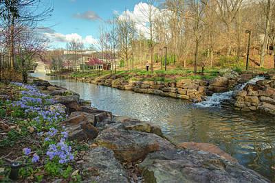 Arkansas Photograph - Crystal Bridges - Bentonville Arkansas Usa by Gregory Ballos